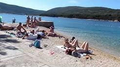 Camp Kovacine Insel Cres Strandweg com cp nach Cres Drive by mit Stady Cam