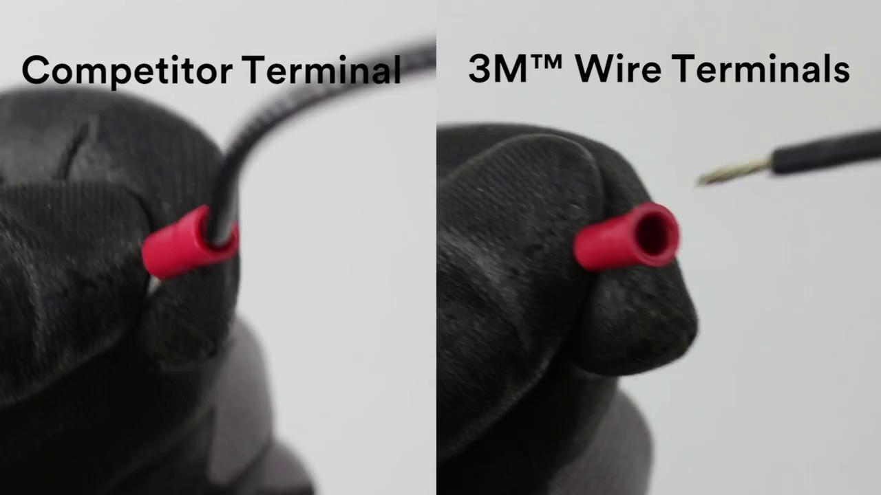 3M™ Wire Terminals: The crimp that lasts - YouTube