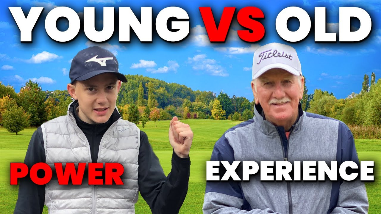 Old Golfer vs Young Golfer - POWER OR EXPERIENCE WHO WINS?