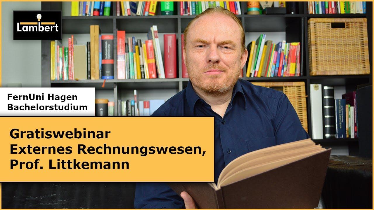 Gratiswebinar Externes Rechnungswesen (Prof. Littkemann