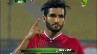 شاهد: لاعب الأهلي المصري يحتفل على طريقة جريزمان