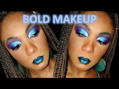 BOLD BLUE Cut Crease  - Juvia's The Saharan II - Profusion Spectrum Palette thumbnail
