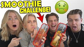 Ulækker SMOOTHIE Challenge m. Rebecca charlotte dahl og Josefine simone
