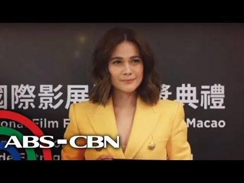 Matapos parangalan sa Macau: Bea Alonzo nais makipag-collaborate sa foreign artists | TV Patrol
