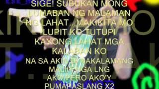 Repeat youtube video Kasingtibay ng gatilyo ft MCgunz.wmv