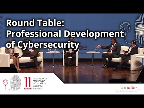 Round Table: Professional Development of Cybersecurity (11ENISE)