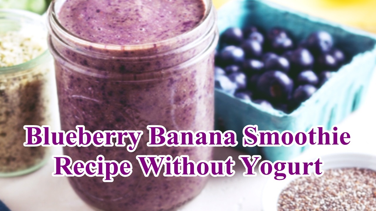 how to make a strawberry and blueberry smoothie without yogurt