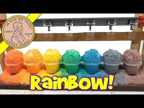 Amazing Snow Rainbow - Insta Snow Fun!