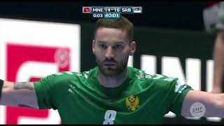 VUK LAZOVIĆ - MONTENEGRO #8 - Highlights - 2020 European Men's Handball Championship