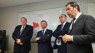 A Bergerac, le ministre Castaner répond au maire sur l'usage du LBD