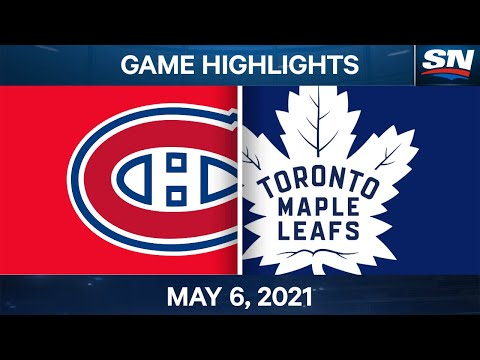 NHL Game Highlights | Canadiens vs. Maple Leafs - May 6, 2021
