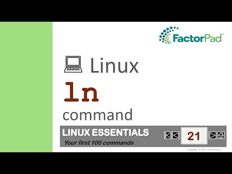 Linux Ln Command Summary With Examples