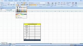 EXCEL TRICKS  IN CASH DENOMINATION SIMPLE METHOD