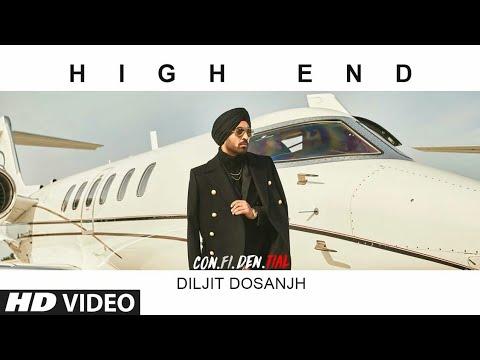 High End Song by Diljit Dosanjh C.O.N.F.I.D.E.N.T.I.A.L || Intensive Beats