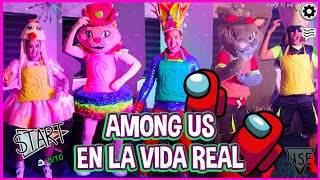 AMONG US EN LA VIDA REAL / AMONG US IN REAL LIFE CHALLENGE /KIDS PLAY