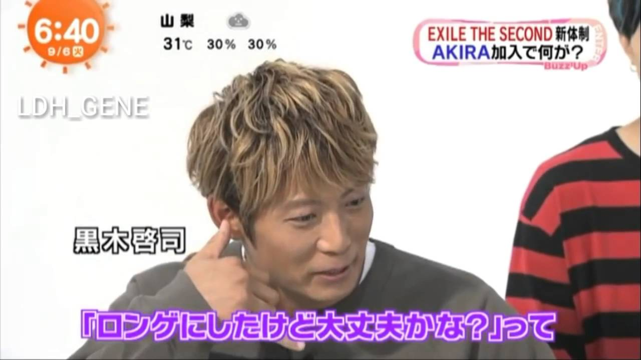 EXILE THE SECOND めざましテレビ
