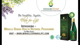 Miracle Drink Brand Video | Miracle Drink's Herbal Health Supplement | Boost Your Health And Wealth