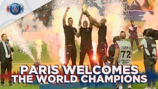 PARIS WELCOMES THE WORLD CHAMPIONS
