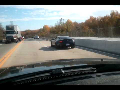 Blacked Out Aston Martin Vantage On Road Youtube