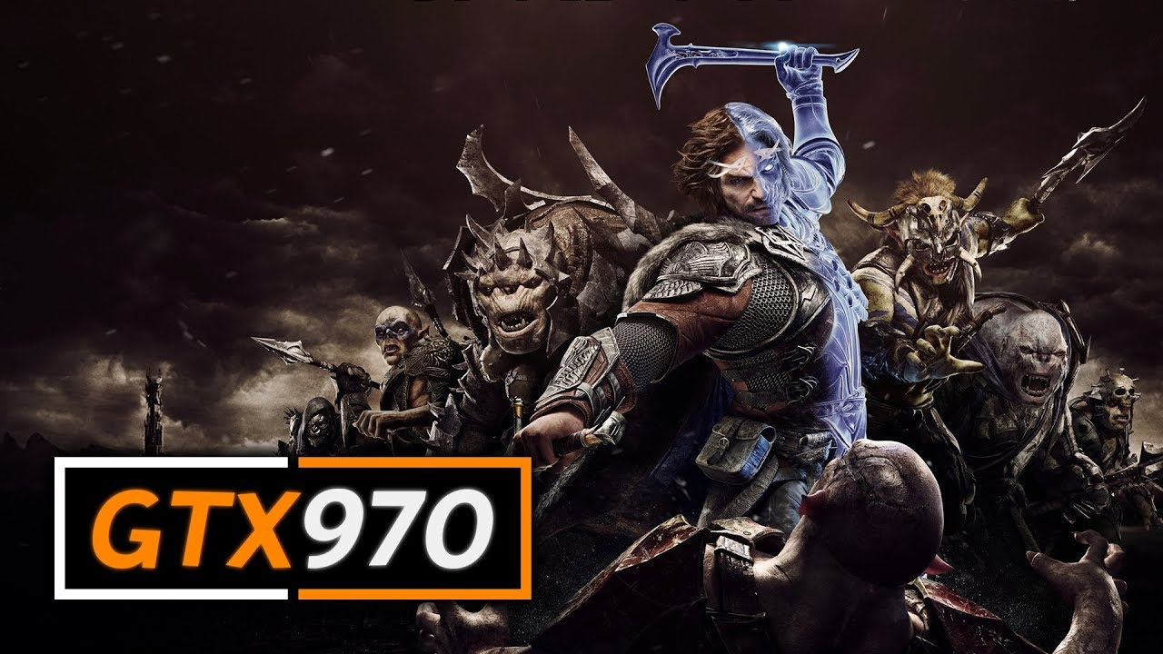 Shadow of War on the GTX 970