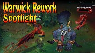 League of Legends - NEW WARWICK REWORK - Full Spotlight [HD] [Ger]