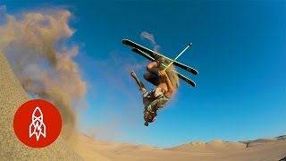 Shredding the World's Highest Sand Dunes on Skis