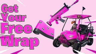 Get Your Free Wrap In Fortnite Battle Royale