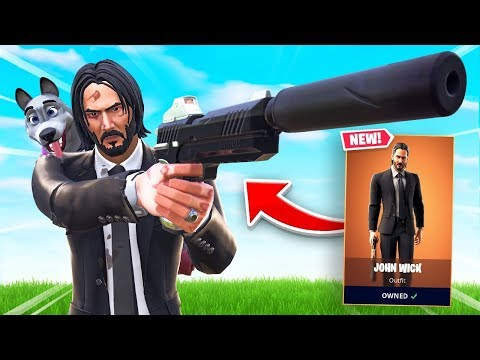 JOHN WICK IN FORTNITE (very dumb)