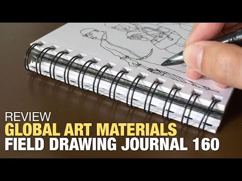 Review: Field Drawing Journal 160 by Global Art Materials