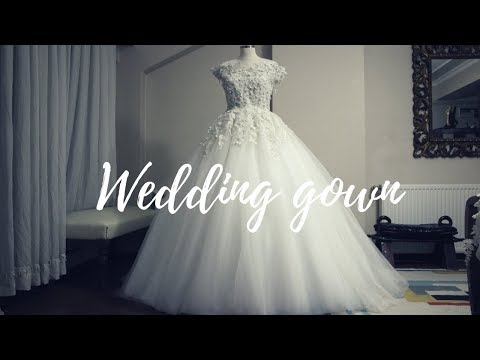MAKING A WEDDING GOWN | BALL GOWN