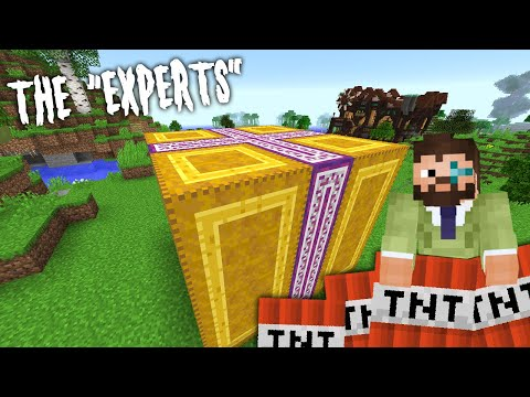 Minecraft Experts 10 | AN EXPLOSIVE PRESENT | Modded Minecraft