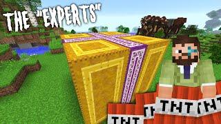 Minecraft Experts 10 | AN EXPLOSIVE PRESENT | Modded Minecraft