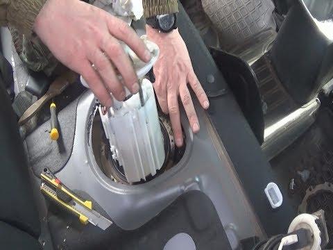 Замена топливного фильтра киа рио 3 своими руками
