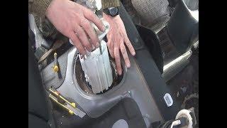 Киа Рио 3,подробно замена сеточки и топливного фильтра !!!