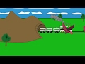 Colors for Children to Learn with a train kids,     cartoon for kids