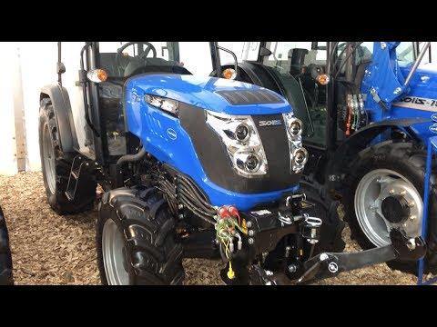 Ültetvényes traktor a javából: Solis N 75