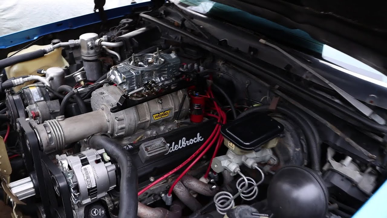 SUPERCHARGED CUTLASS HAS A MINOR CARB ISSUE BUT NOTHING MAJOR....