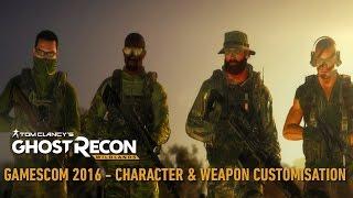 Tom Clancy's Ghost Recon Wildlands Trailer: Character & Weapons Customisation - Gamescom 2016