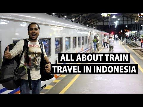 Indonesia Train Travel- Jakarta to Yogyakarta- Economy Class | Indonesia Ep 2