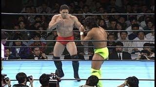 Wayne Shamrock vs Yoshiki Takahashi 1993 10 14