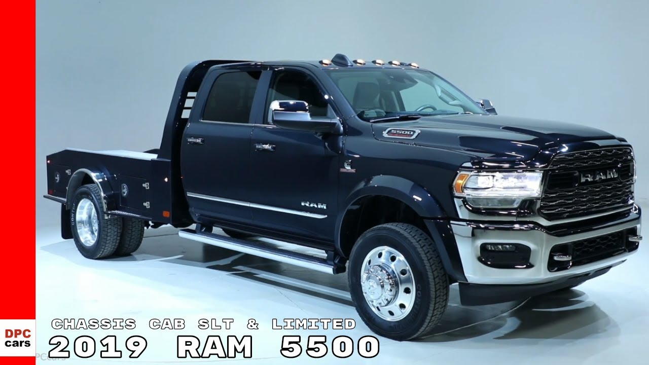 2019 Ram 5500 Chassis Cab SLT & Limited - YouTube