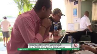 Gentevé Noticias - Investigan presunta corrupción en Alcaldía de Atiquizaya