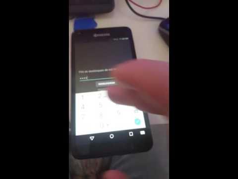 Kyocera C6742 unlock code not working