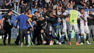 Quand les Supporters Bastiais Agressent les Joueurs de Lyon !
