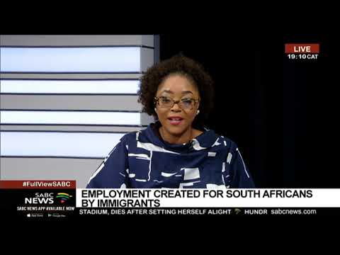 Employment Of Foreign Nationals In SA: Thulas Nxesi