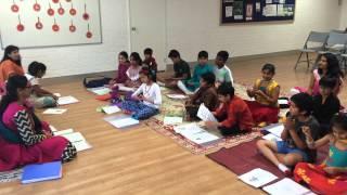 """Come-O-bulky Stomach Ganapathi"" by the Bala Vihar children"