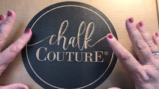 Unboxing my Chalk Couture Starter Kit