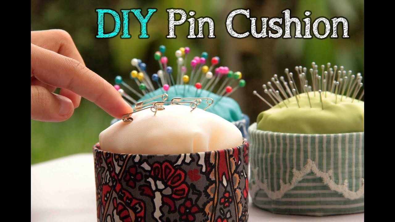 DIY Pin Cushion (Easy and No sew!) - YouTube