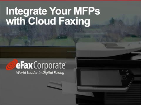 Multifunction Printer Fax Feature Webinar Part 1 | eFax Corp