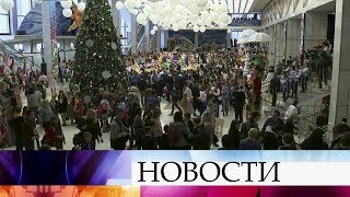 Тысячи российских школьников приехали со всей страны на главную «Елку» в Кремль.